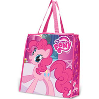 Vandor 42073 My Little Pony Large Recycled Shopper Tote, Pink