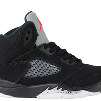 Air Jordan 5 V Retro PS Pre-School Black Metallic Silver 2016 Release