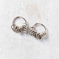 Many Rings Hoop Earring