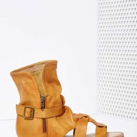 Wanderlust Leather Sandal Bootie