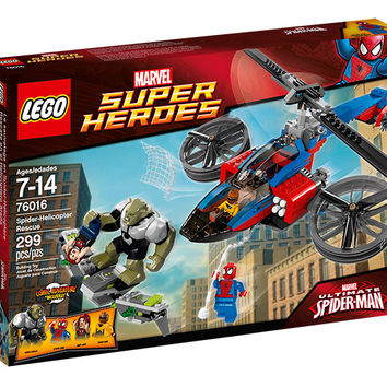 LEGO® Marvel Super Heroes Spider-Helicopter Rescue
