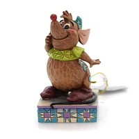 Jim Shore CINDERELLY'S FRIEND Polyresin Gus Personality Pose 4059739