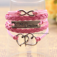 Hand-woven multi-layer leather bracelet, men and women personalized bracelets, characteristic style of gifts QNW8040