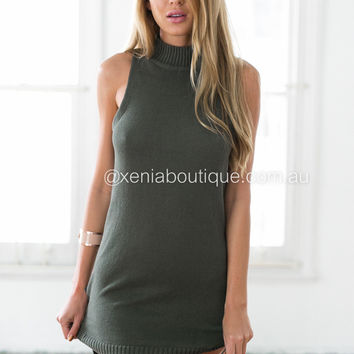 Turtleneck Eve Dress