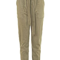 PETITE Paperbag Utility Trousers | Topshop