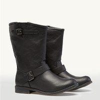 Buckled Biker Boots | Fashion Boots | rue21