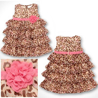 Leopard Baby Girl Dress