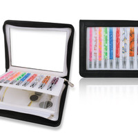 """Knitters Pride Marblz 16"""" Special IC Knitting Needle Set with Faux Leather Case"""
