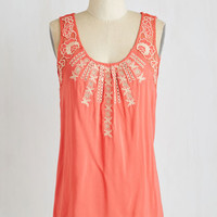 Mid-length Tank top (2 thick straps) Head to Gelato Top