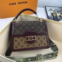 lv louis vuitton womens leather shoulder bag satchel tote bags crossbody 181
