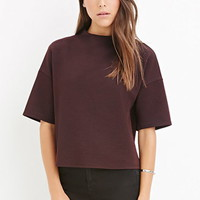 Textured Boxy Top