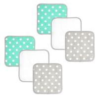 Koala Baby 6 Pack Washcloths - Hippo