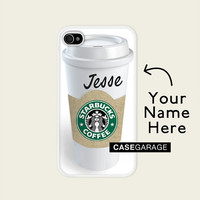 Iphone case  5 / 4 / 4s - Starbucks Personalized