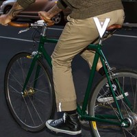 British Khaki Bike to Work Pants