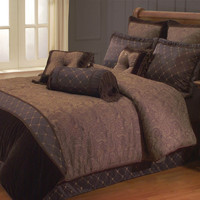 ELIZABETH BEDDING SET QUEEN - 9 PC.