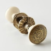Persephone Doorknob by Anthropologie Bronze One Size Knobs