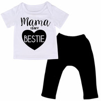 Mama is my Bestie Outfit