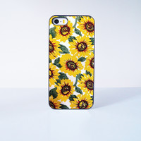 Sunflower Plastic Case Cover for Apple iPhone 5s 5 4 4s 5c 6 6s Plus