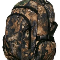 Real Tree Camouflage Chita MBK Casual Daypack Hiking Backpack