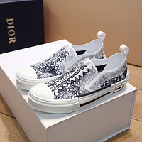 dior fashion men womens casual running sport shoes sneakers slipper sandals high heels shoes 204