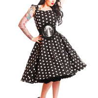 Little Wicked Designs 'Bettie' swing dress made to measure rockabilly/gothic dress fully lined version - choose your own neckline & sleeve