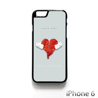 Kanye West Hearbreak for Iphone 4/4S Iphone 5/5S/5C Iphone 6/6S/6S Plus/6 Plus Phone case