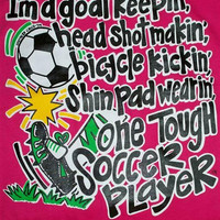 Southern Chics Funny Soccer Player Sweet Girlie Bright T Shirt