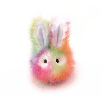 Prism the Rainbow Bunny Stuffed Animal Plush Toy