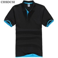 Plus Size Morning Exercise Clothes Men Polo Shirt Cotton Tops Short Sleeves Deporte Shirts Men Jerseys Male Tenis Clothes B012