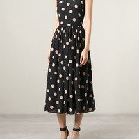 Red Valentino Polka Dot Dress - Il Bacio Di Stile - Farfetch.com