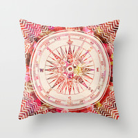Follow Your Own Path II Throw Pillow by Bianca Green