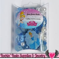 DISNEY CINDERELLA Pendant and Acrylic Beads Necklace Kit
