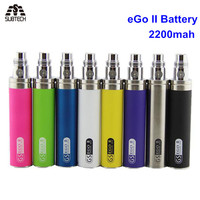 GS eGo II Battery 2200mah E Cigarettes Updated EGO Battery For 510 CE4 MT3 Atomizer ecig Battery