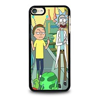 RICK AND MORTY CARTOON iPod Case