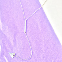 Leandra Arrow Chain Necklace