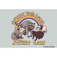 """Support Your Local Street Cats Magnet 