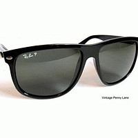 Polarized Black Ray Ban Sunglasses, RayBan Sun Glasses