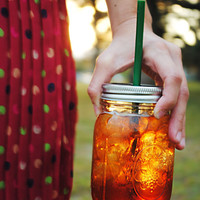 Super Fun Mason Jar Tumbler