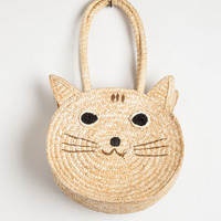 ModCloth Cats Mew From the Top Tote