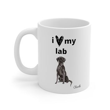 i love my lab Mug