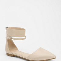 Urban Outfitters - Chinese Laundry Encino Ankle-Wrap Flat