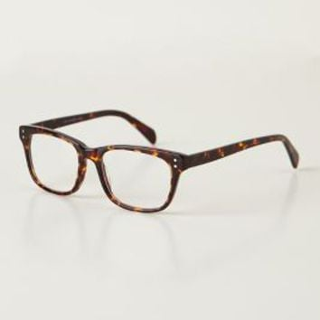 Finn Reading Glasses by Anthropologie Brown Motif 2.50x Jewelry