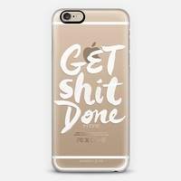 Get Shit Done iPhone 6 case by Startup Genius   Casetify