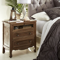Madeline Gray Washed Nightstand