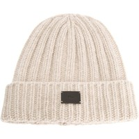 DIOR HOMME ribbed beanie hat