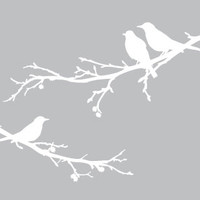Surface Collective's Wall Tattoos / Wall Decals / Laptop Decals - Product - Bye Bye, Black Bird