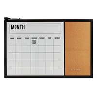 Simple by Design Magnetic Dry-Erase Monthly Calendar
