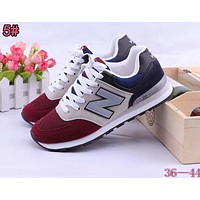 New Balance Fashion Women Men Casual Breathable  Sneakers Shoes 5#