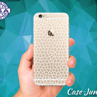White Line Crackle Pattern Egg Shell Cute Tumblr New iPhone 5, iPhone 5C, iPhone 6, and iPhone 6 +, iPhone 6s, iPhone 6s Plus and iPhone SE