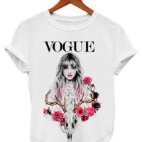 VOGUE WHITE T-SHIRTS